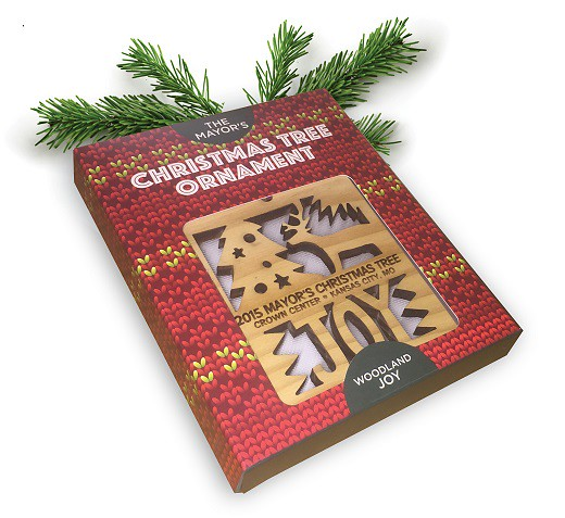 2015 Mayor's Christmas Tree Ornament