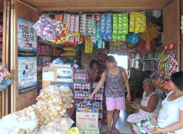Rosario D. Merilles, Guian market vendor