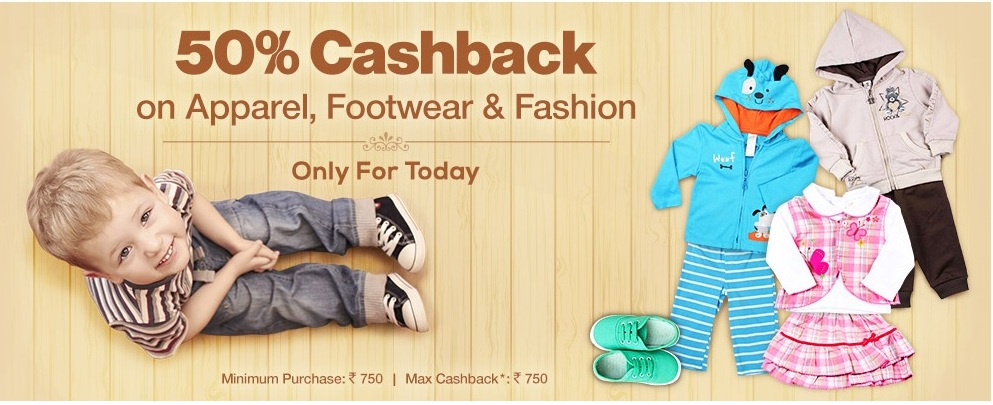 firstcry50%cashback