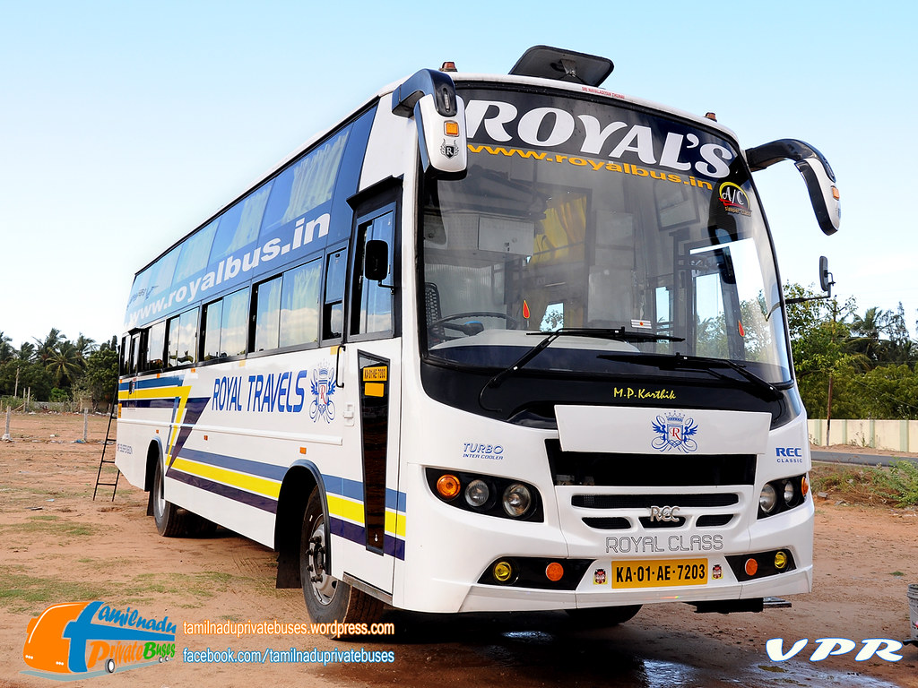 KA01AE.7203 Of Royal Travels New Service