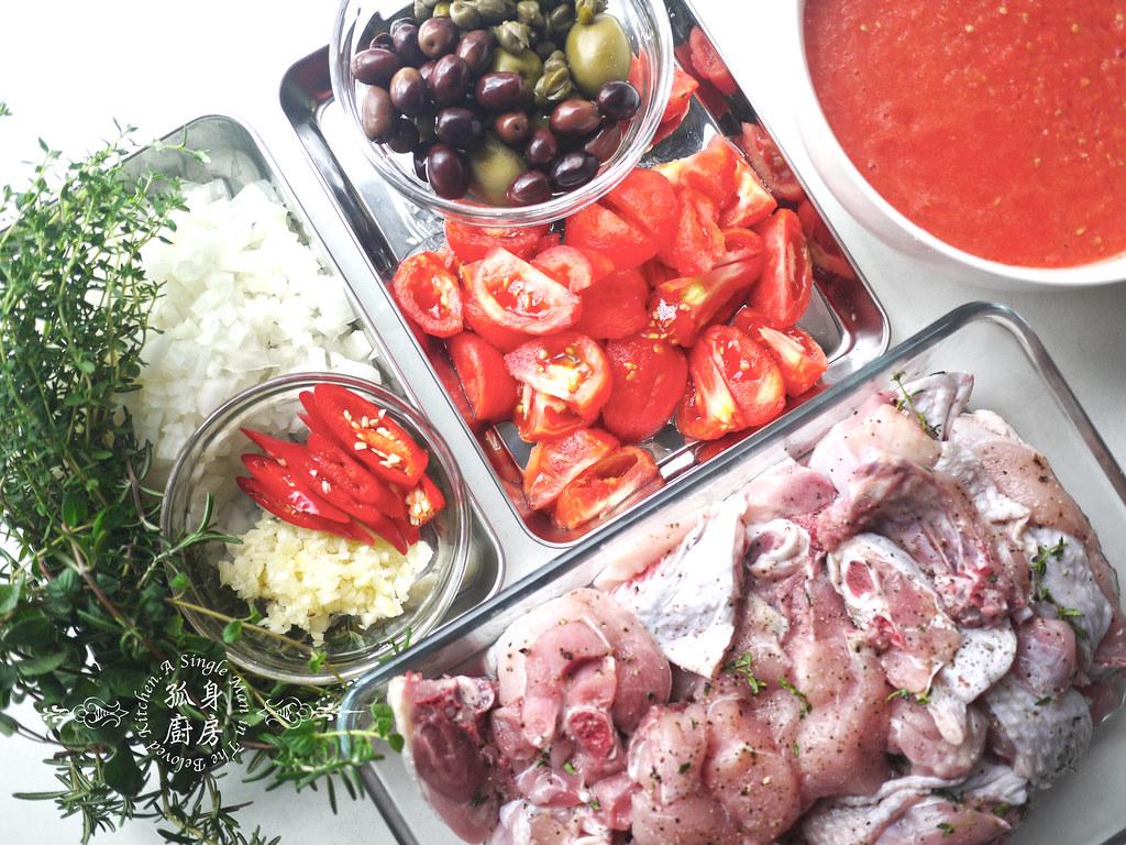 孤身廚房-蕃茄橄欖燴雞肉佐番紅花香米6