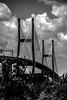 Talmadge Memorial Bridge in savannah georgia by DigiDreamGrafix.com
