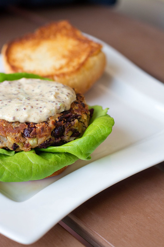 Red Beans and Rice Burgers