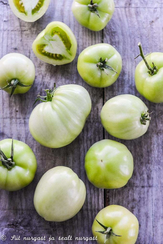 rohelised tomatid