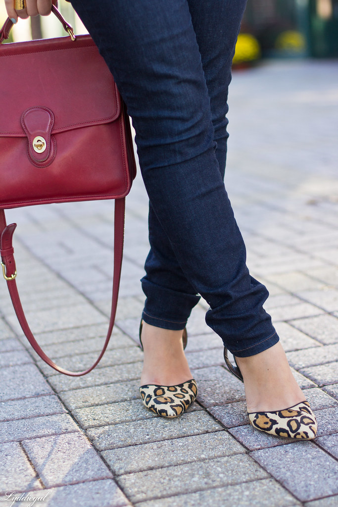 brown suede jacket, white tee, denim, leopard pumps-7.jpg