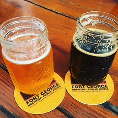 Cheers! #astoria #drinklocal #fortgeorgebrewery