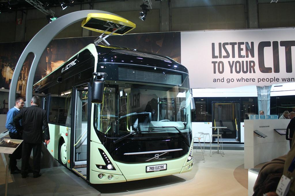BusWorld 2015  VOLVO 7900 Electric.
