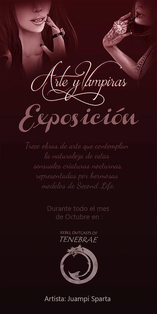EXPOSICION DE ARTE: VAMPIRAS