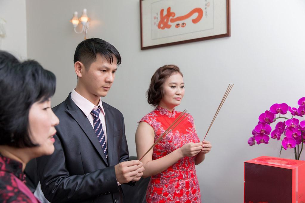 台南婚攝-文定歸寧宴 X 麻豆國小禮堂 (15)