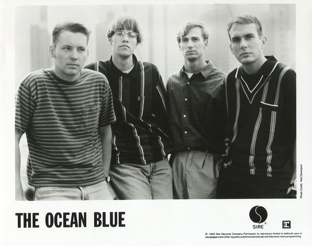THE OCEAN BLUE 8x10 1993 Beneath the Rhythm and Sound