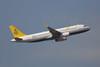 """Airbus, A320-232, V8-RBW, """"Royal Brunei"""", VHHH, Hong Kong"""