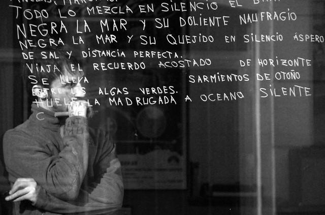 VIGILIA PASCUAL - JORGE CARBALHO BRANCO 24H EN EL BAR BELMONDO - DEL 23 AL 24 DE NOVIEMBRE´15