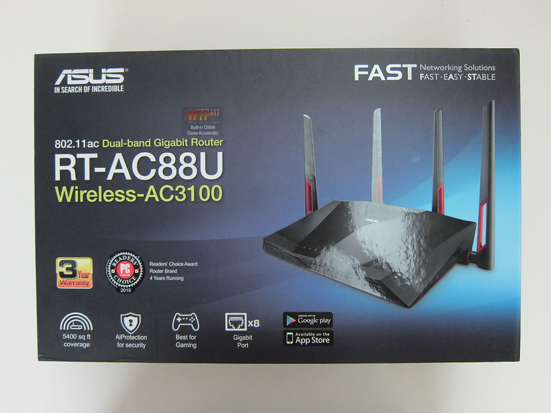 Asus RT-AC88U Router - Box Front