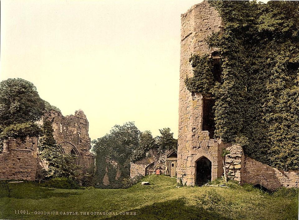 Goodrich Castle, Goodrich, England