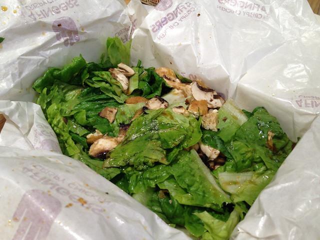 mushroom-tofu-salad