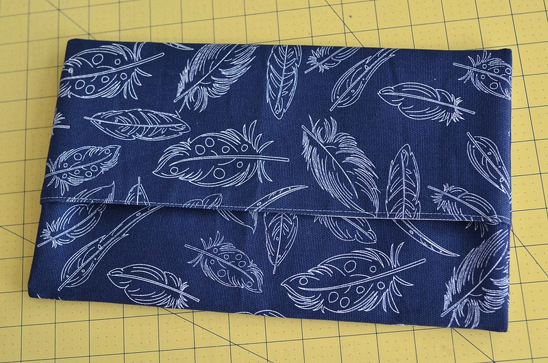 canvas envelope pouch