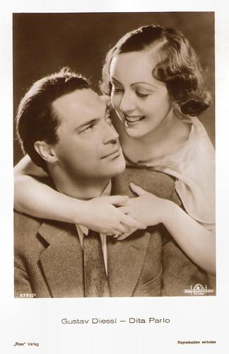 Gustav Diessl and Dita Parlo in Menschen hinter Gittern (1930)