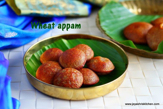wheat -appam