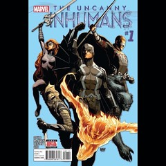 Uncanny Inhumans #1 capsule review, today at www.longboxgraveyard.com. #Inhumans #comics