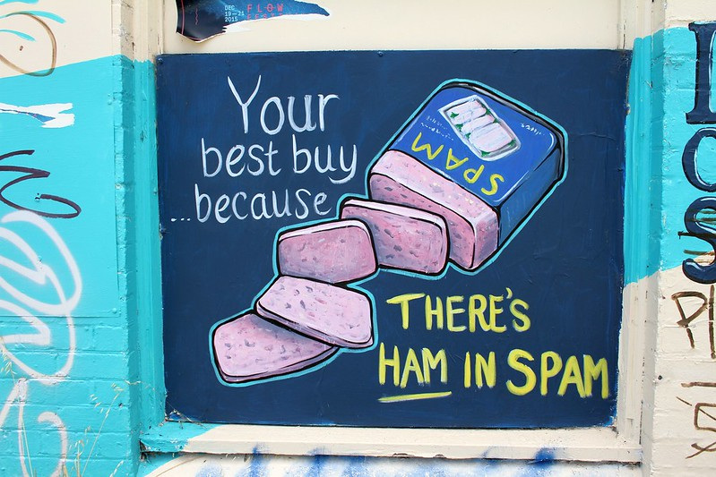Ham in Spam
