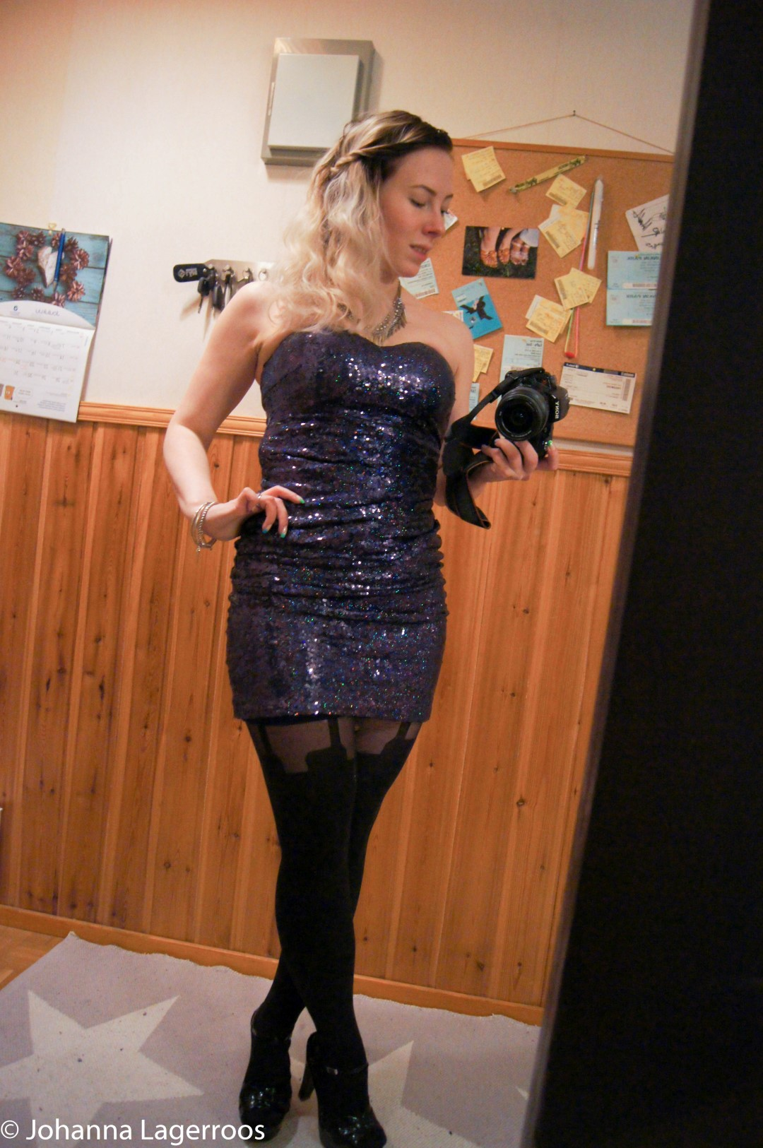 BOM sequin dress