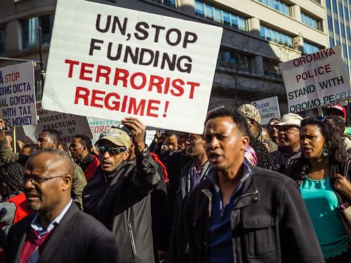 Oromo Students Protest