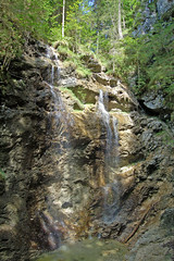 Wallgau - Bären-Wasserfall (1)