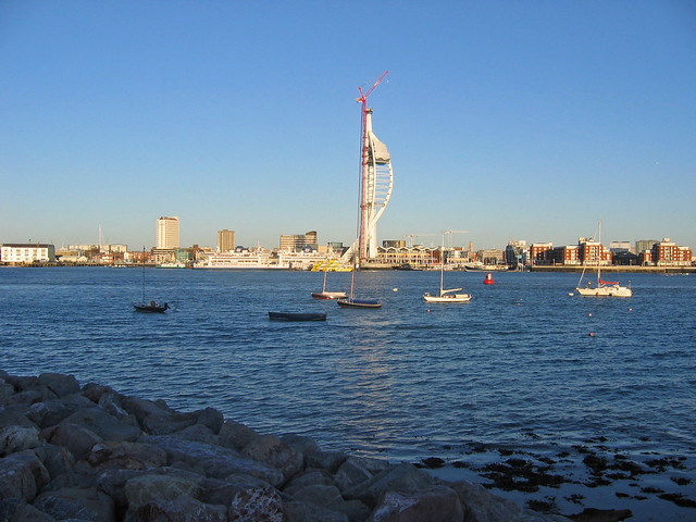 Portsmouth from Gosport