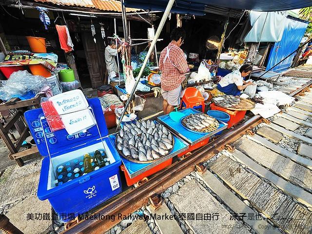 美功鐵道市場 Maeklong Railway Market 泰國自由行 37