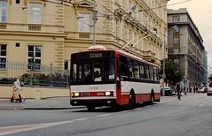 Brno Skoda 14Tr trolleybus Česká