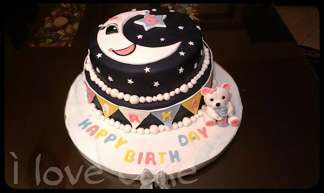 Cake by Dina Kamal of I love cake