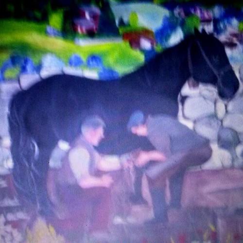 #cavallo #murales bellissimi di nuovi modi di fare dei muri un arte un posto un modo di condividere e condividersi con altri , un homepage