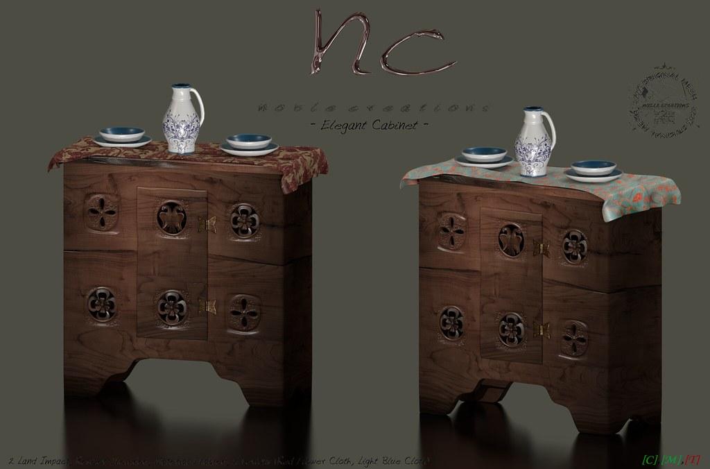 [NC] – Elegant Cabinet 1/2