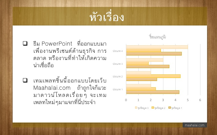 PowerPoint Theme Business III