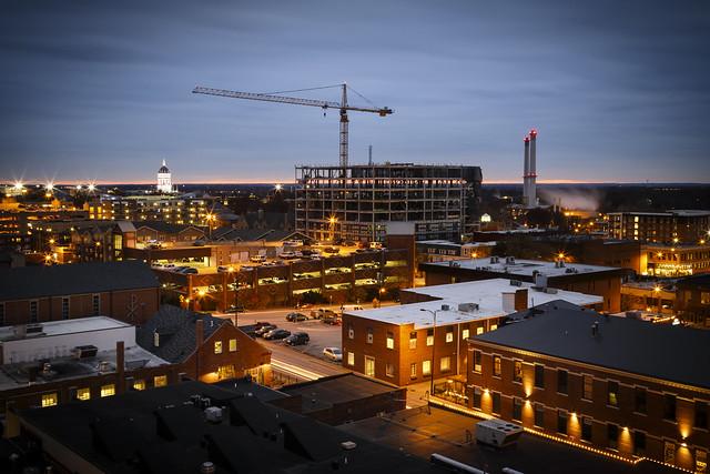 Downtown Columbia Missouri