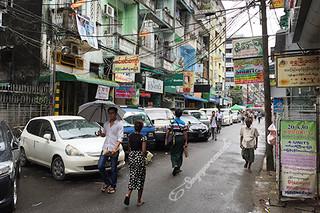 Yangon 999 Shan Noodles - Street