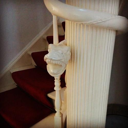 In de categorie coole trappen: het nieuwe huis van de schoonvader.
