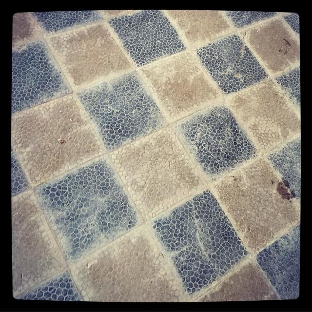 #floor #floortiles #hiedanranta #vesilaitos #latergram