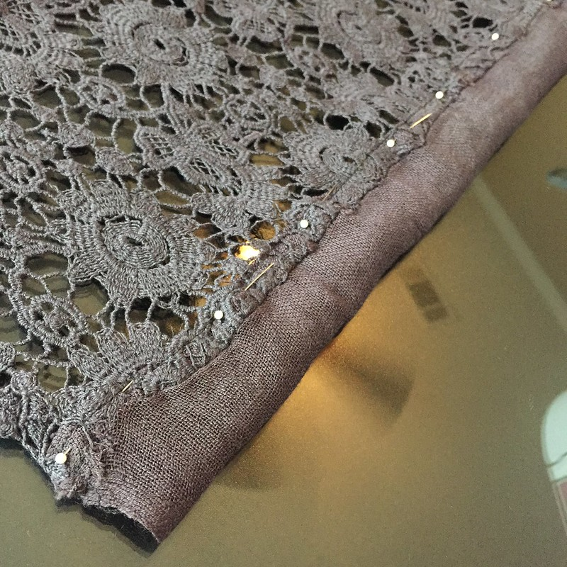 Lace Kimono - In Progress