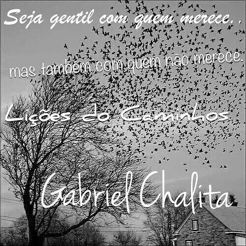 Lição do @gabriel_chalita #gabrielchalita