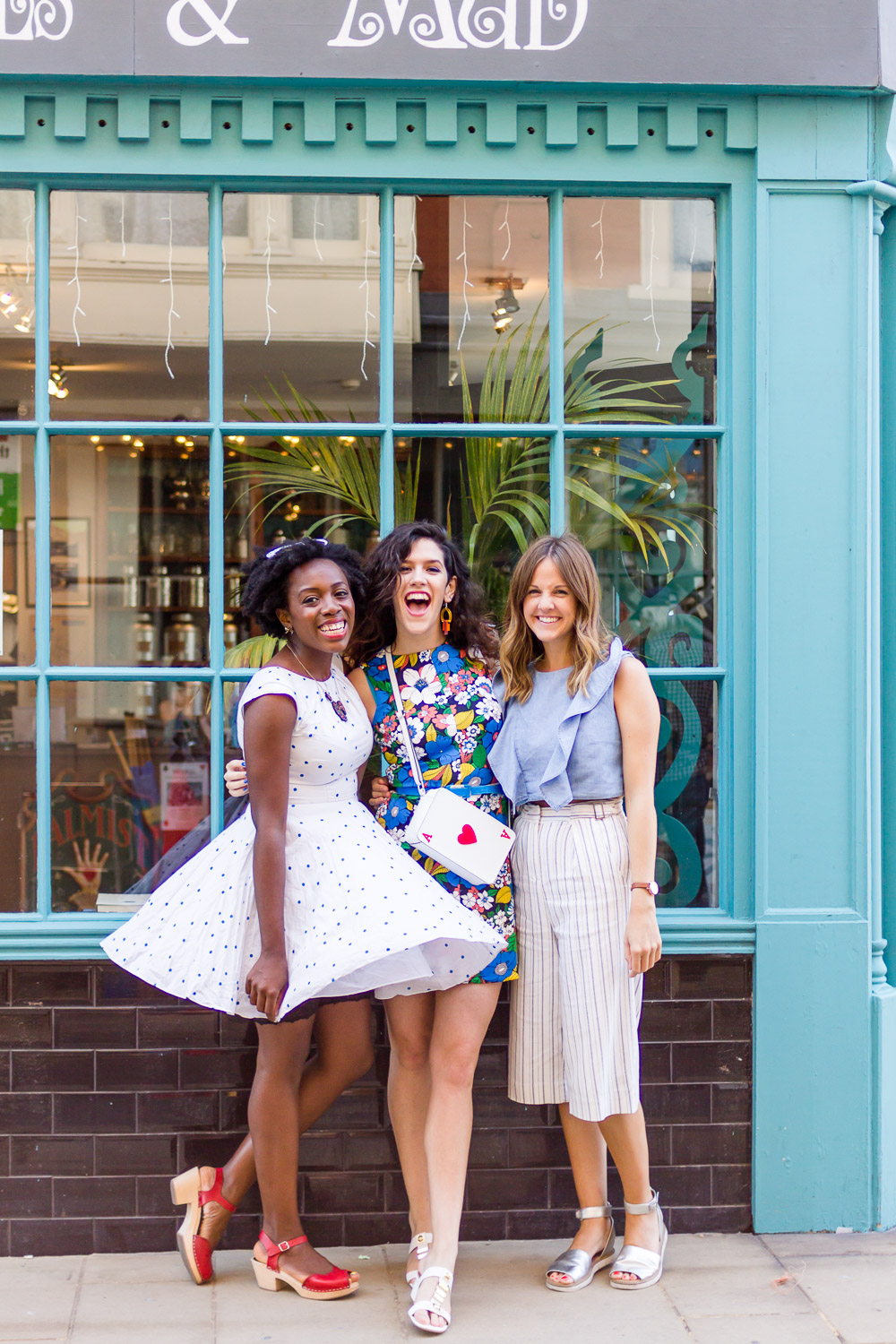 bloggers in margate: kristabel, lucy and kim london