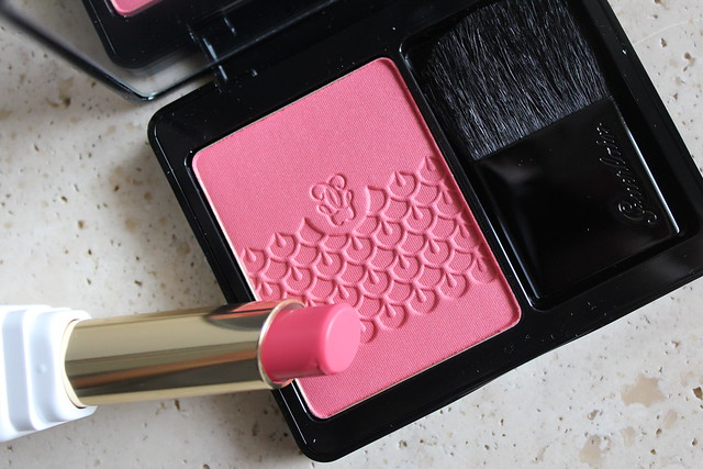 Guerlain KissKiss Roselip Pink me up review and swatch