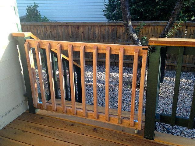 Finished Baby Gate