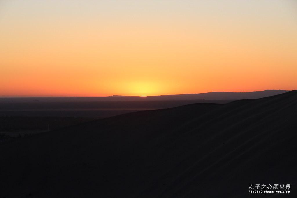 絲路-敦煌鳴沙山月牙泉-沙漠露營35