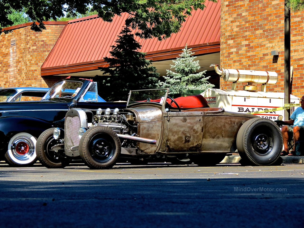 Lead East Rat Rod Roadster