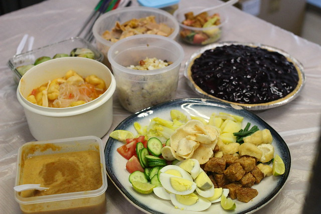Meatless Monday Potluck Party - 14 September 2015