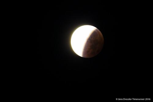Mondfinsternis - Schattenseite