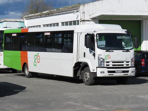 Go Bus 1904 27/09/2015 Tokoroa, NZ