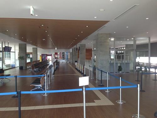 rishiri-island-oshidomari-ferry -terminal-second-floor
