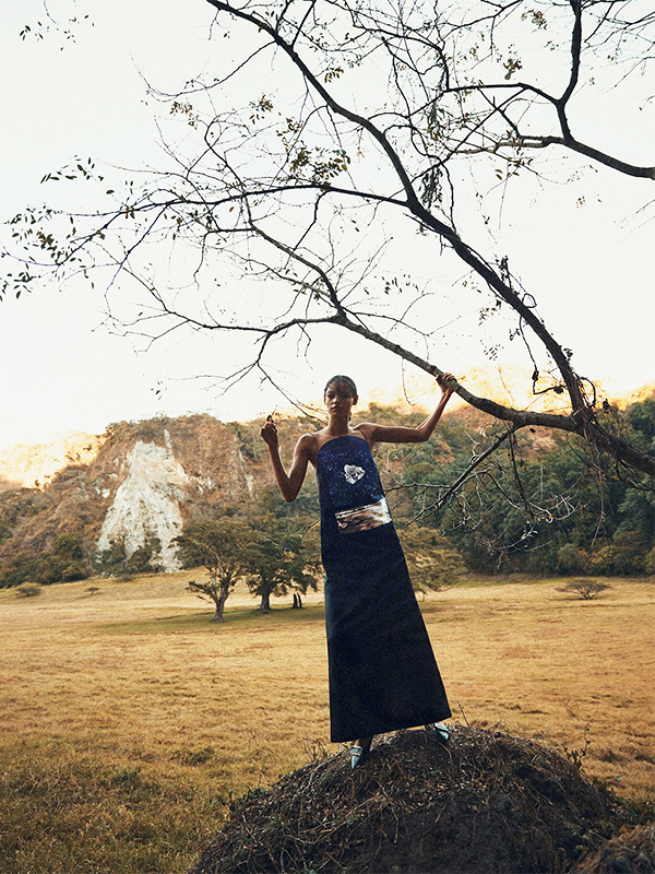 malaika firth by norman jean roy for porter #3 summer 2014